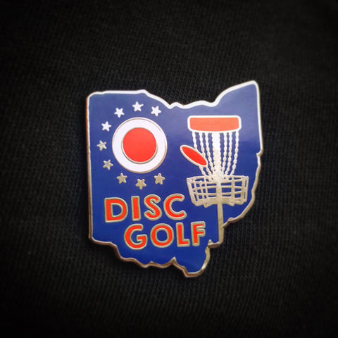 Ohio Disc Golf Pin