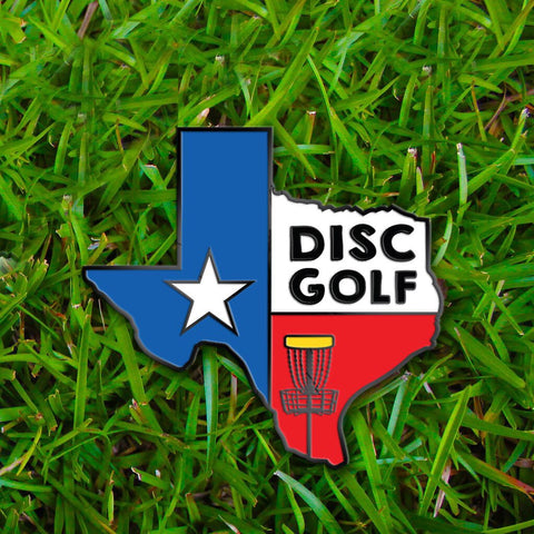 Texas Disc Golf Pin