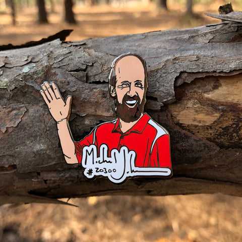 Michael Johansen Disc Golf Pin - Series 1