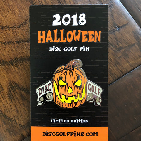 Halloween 2018 Disc Golf Pin