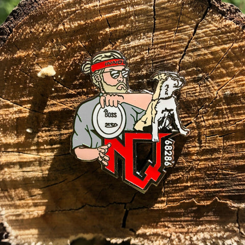 Nathan Queen Disc Golf Pin