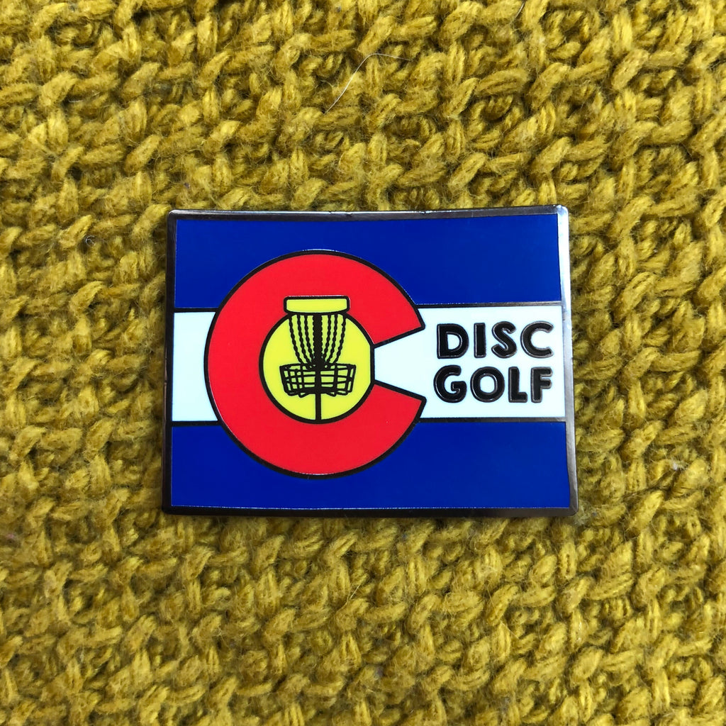 Colorado Disc Golf Pin