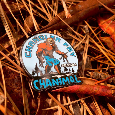 Chandler Fry Disc Golf Pin - Series 1