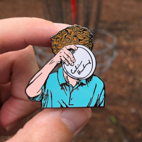 PREORDER - Calvin Heimburg Disc Golf Pin - Series 1 - SHIPS NOV. 1st