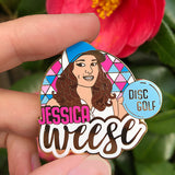 Jessica Weese Disc Golf Pin - Series 1