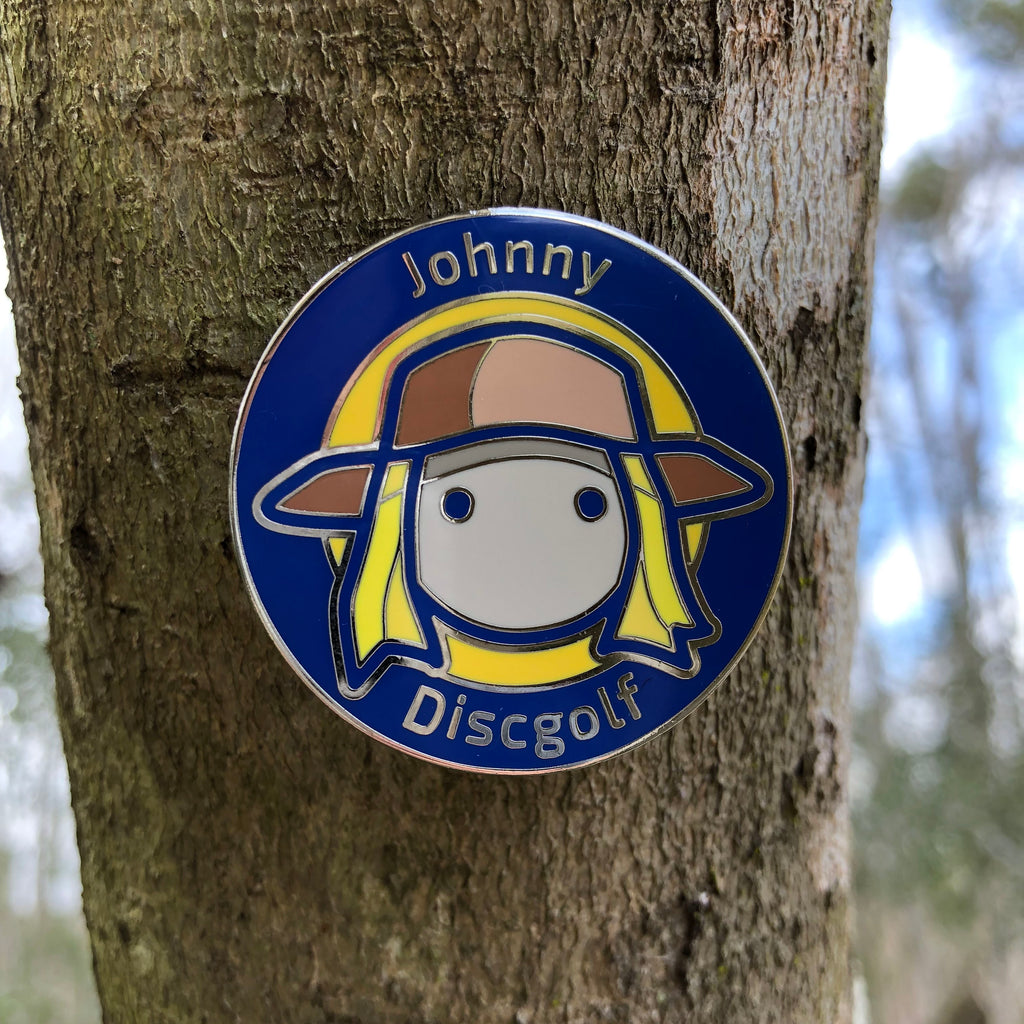 Johnny Discgolf - 2019 Limited Edition Pin