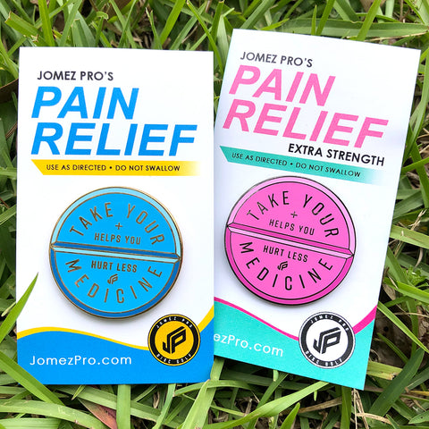 JOMEZ - Pain Relief Disc Golf Pin