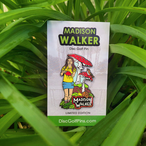 Madison Walker Disc Golf Pin - Series 1