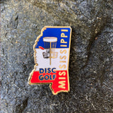Mississippi Disc Golf Pin