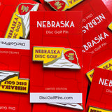 Nebraska Disc Golf Pin