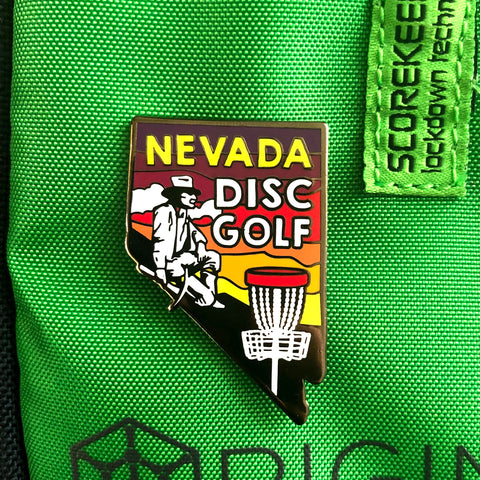 Nevada State Disc Golf Pin
