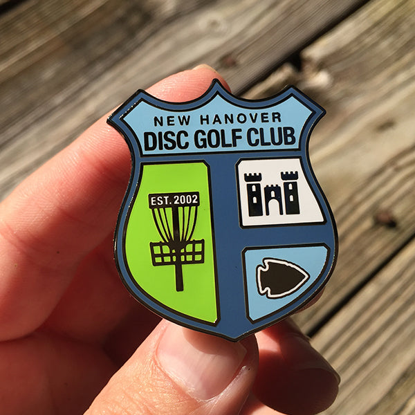 NHDGC Disc Golf Pin - (COLOR)