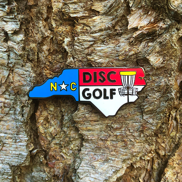North Carolina Disc Golf Pin