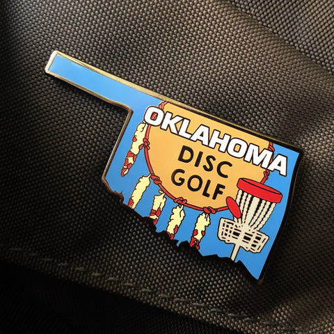 Oklahoma State Disc Golf Pin