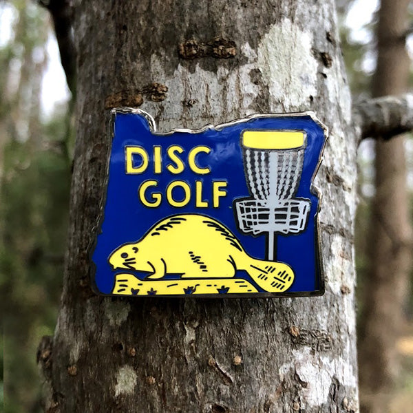 Oregon Disc Golf Pin