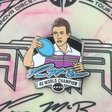 Paul McBeth Series 2 Disc Golf Pin