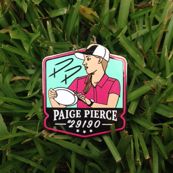 Paige Pierce Disc Golf Pin - Series 1