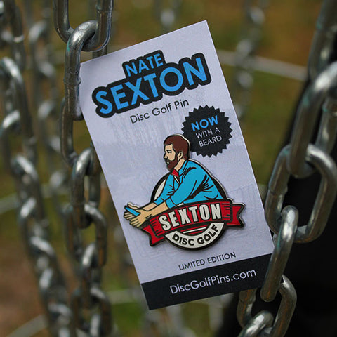 Sexton Putter Beard Enamel Pin - 1st Edition