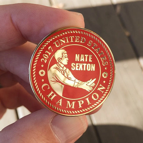 Nate Sexton USDGC Disc Golf Pin - Limited Edition - ONLY 2 LEFT