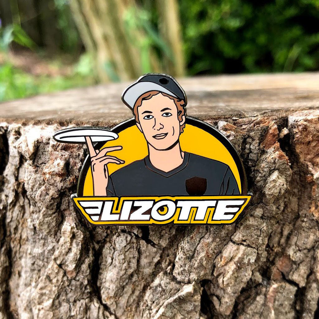 Simon Lizotte Enamel Pin - Series 1 Color Variant