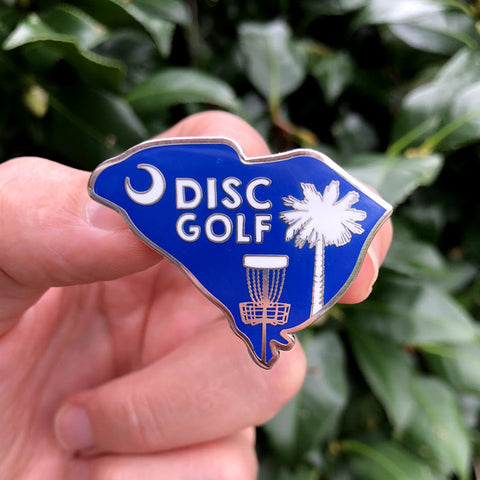 South Carolina Disc Golf Pin