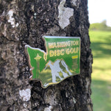 Washington Disc Golf Pin