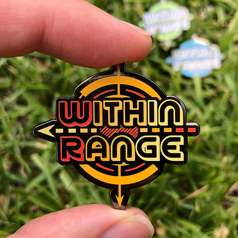 Within Range Disc Golf Pin - Series 1