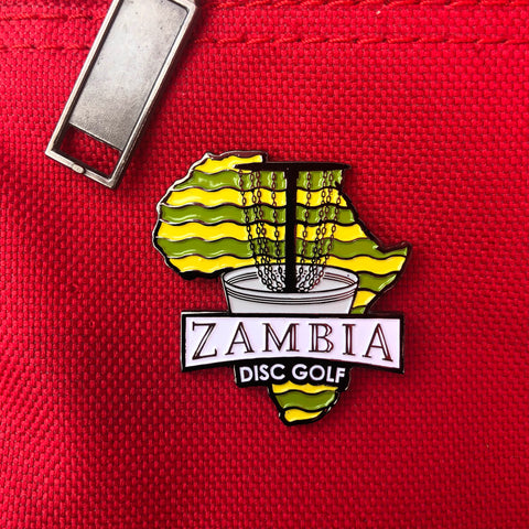 Zambia Disc Golf Pin - Fundraiser