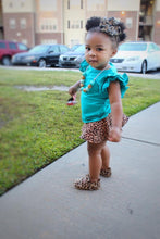 Cheetah Skirted Shorties