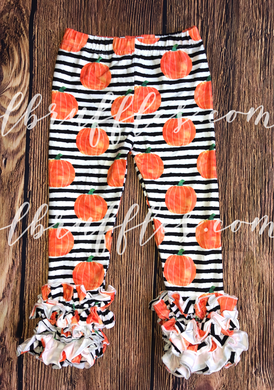 Pumpkin Stripe Icing Pants