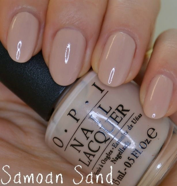 "OPI Nail Lacquer ""Samoan Sand"" NLP81c"