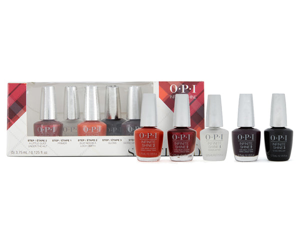 OPI Infinite Shine Scotland Mini Set