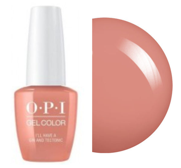 "OPI GelColor ""I'll Have A Gine & Techtonic"""