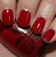 "China Glaze Pro Polish ""Adventure Red-Y"" 54E"