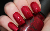 "China Glaze Pro Polish ""Ruby Pumps"" 54D"