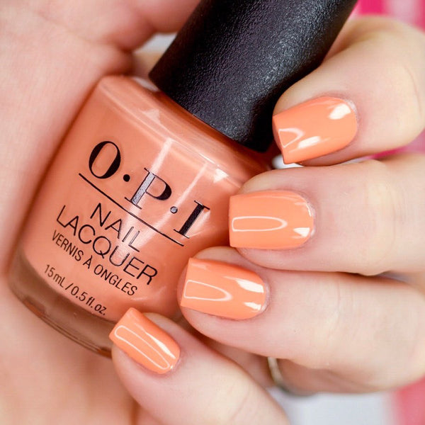 "OPI Polish ""Coral-ing Your Spirit Animal"" From OPI Mexico City Collection 2020 10-O"