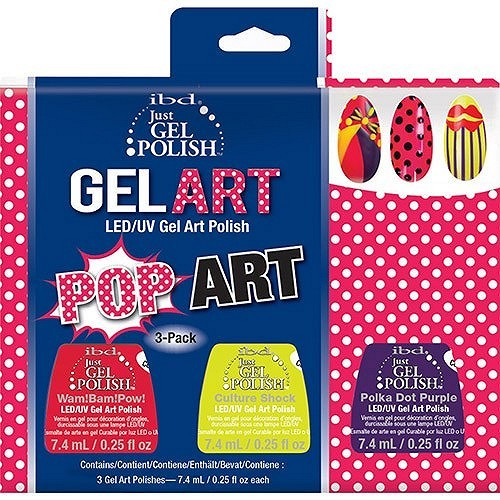 ibd Just GEL Polish Pop Art Mini Set