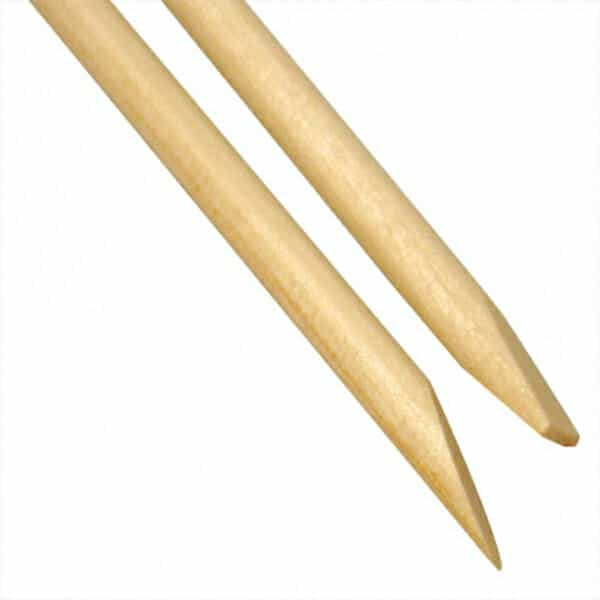 Orange Wood Cuticle Sticks 10 Pack