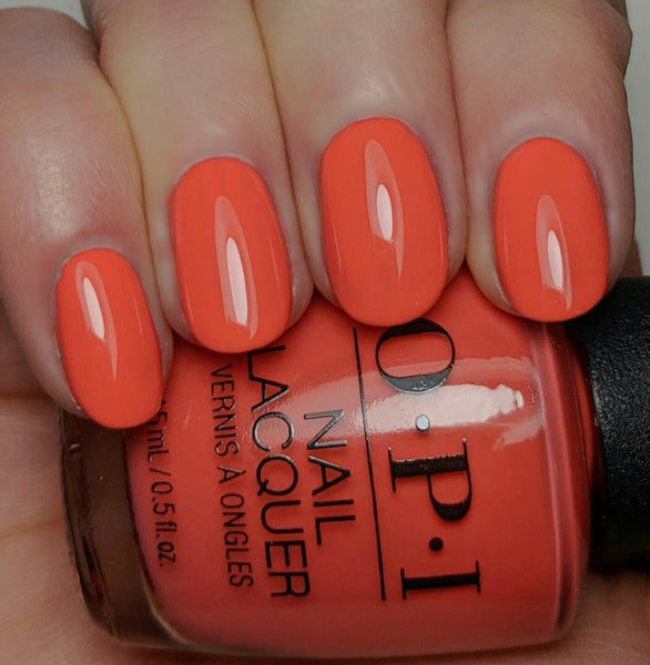"OPI Polish ""Hot & Spicy"" 7F"