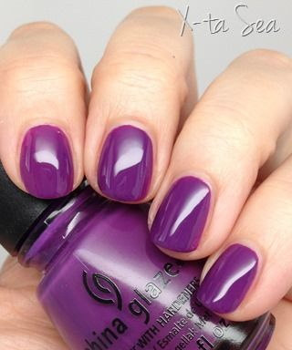 "China Glaze Polish ""X-Ta-Sea"" 11F"