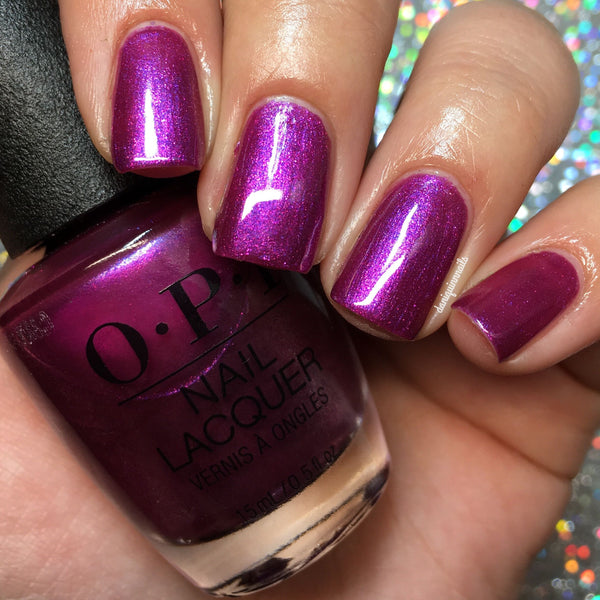 "OPI Nail Lacquer  ""Berry Fairy Fun"" nlh54J"