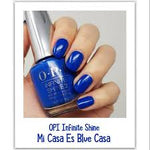 "OPI Infinite Shine 'Mi Casa Es Blue Casa"" (From Mexico City Collection"