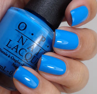 "OPI Polish ""No Room For The Blues"" 8K"
