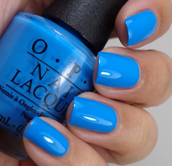 "OPI Polish ""No Room For The Blues"" 07R"