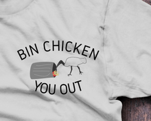 Bin Chicken You Out, Ibis T-Shirt - Fresh Baked Threads