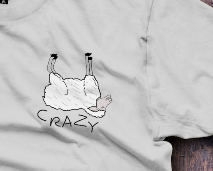 Ewe Crazy, Sheep, You Crazy T-Shirt - Fresh Baked Threads