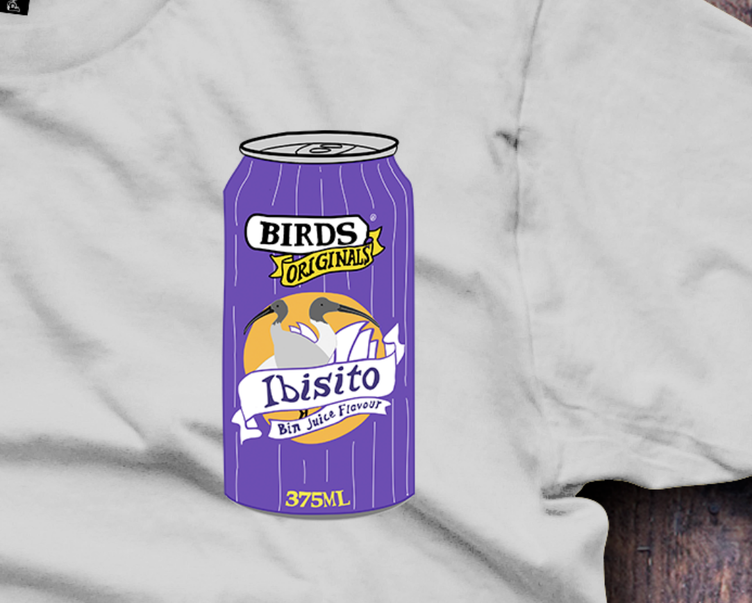 Ibisito, Pasito, Ibis, Bin Chicken T-Shirt - Fresh Baked Threads