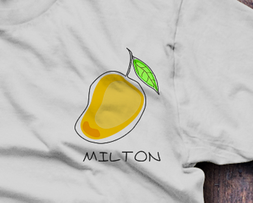 Juicy Milton Mango T-Shirt - Fresh Baked Threads