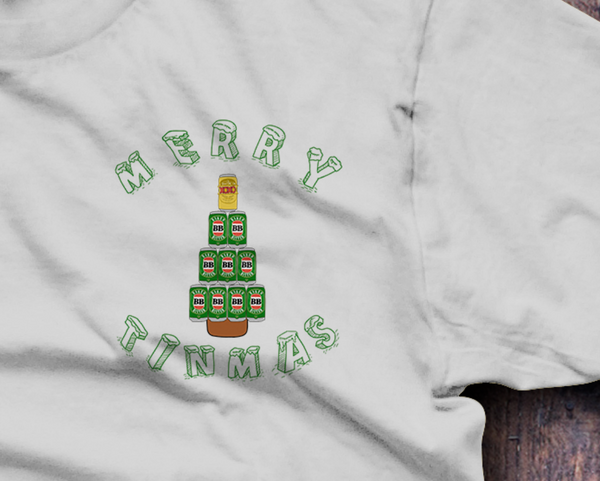 Merry Tinmas Christmas xmas T-Shirt - Fresh Baked Threads
