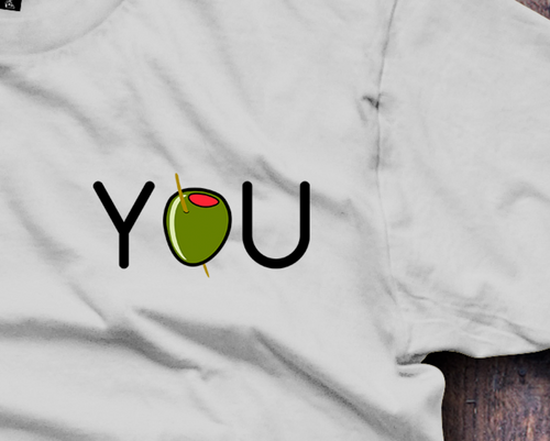 Olive You, I Love You T-Shirt - Fresh Baked Threads